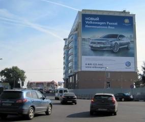 Брандмауэр «Volkswagen» - ул. Ленина. д. 104б