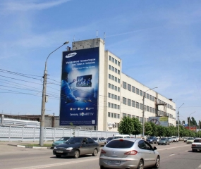 Брандмауэр «Samsung» - ул. Ворошилова, д. 22