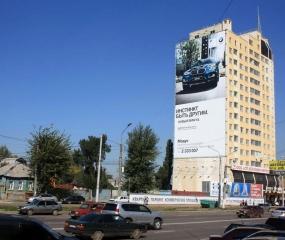 Брандмауэр «BMW» - ул. Ленина. д. 56