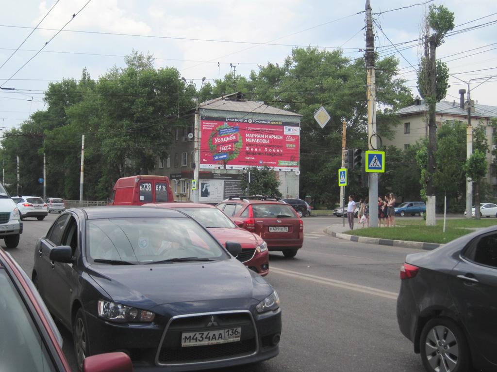 Брандмауэр «Усадьба Джаз», ул. Космонавтов, д. 15
