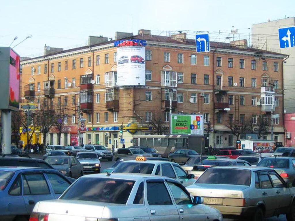 Крышная установка + брандмауэр - ул. Плехановская, 40, дневной вид