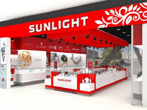 Визуализация магазина «Sunlight», вид со стороны входа