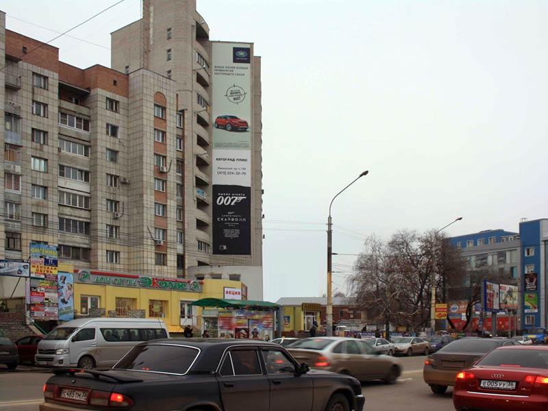 Брандмауэр Ленинский пр-т, 117, дневной вид