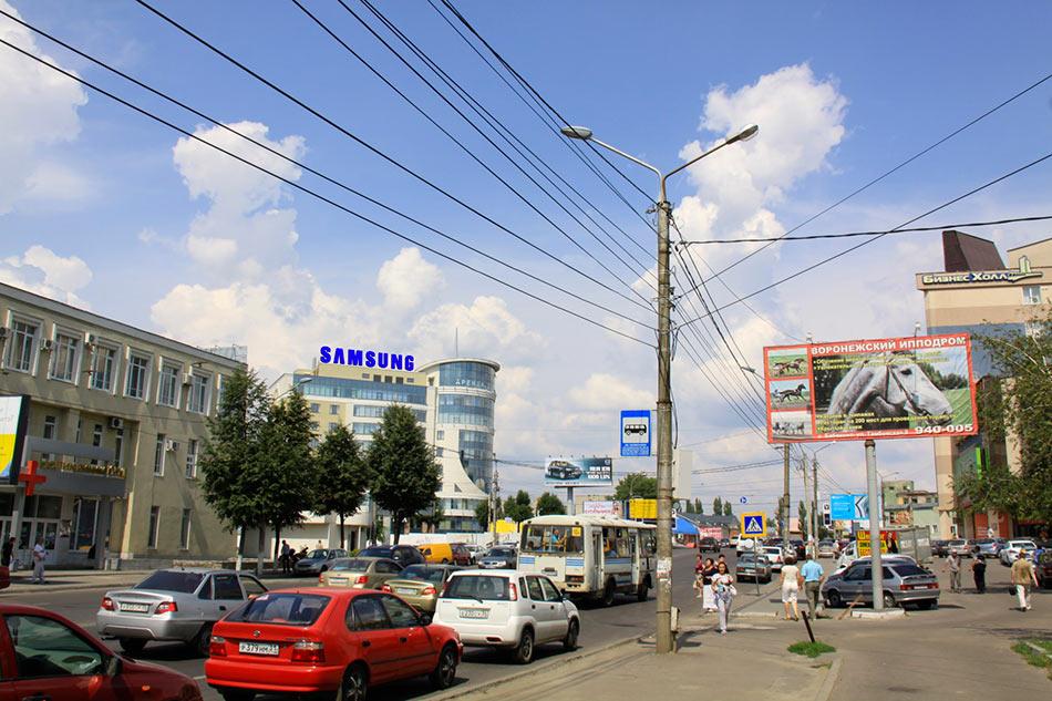 Крышная установка - ул. Ленина, 104б (от проспекта Революции из центра)